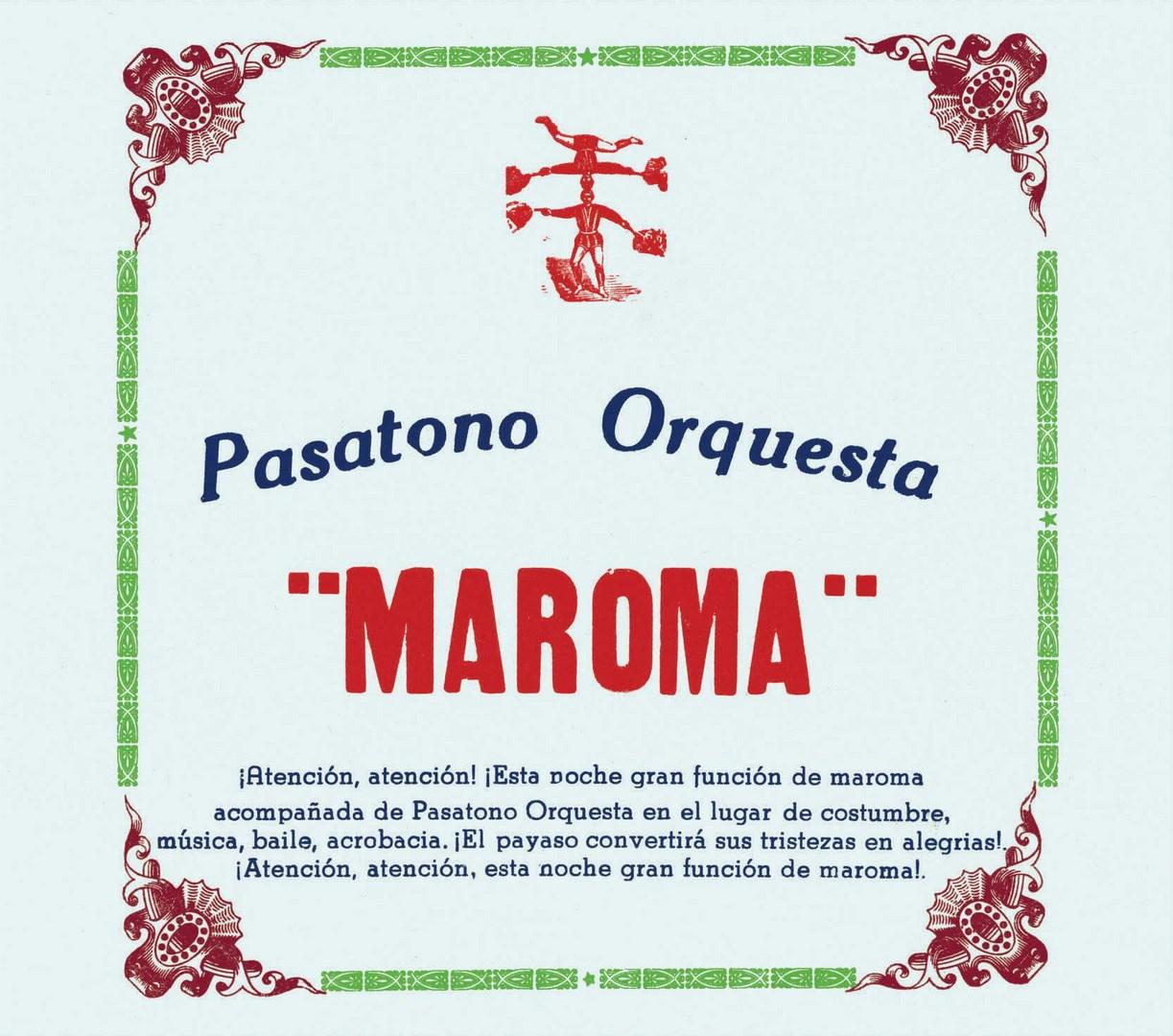 Maroma - Pasatono Orquesta